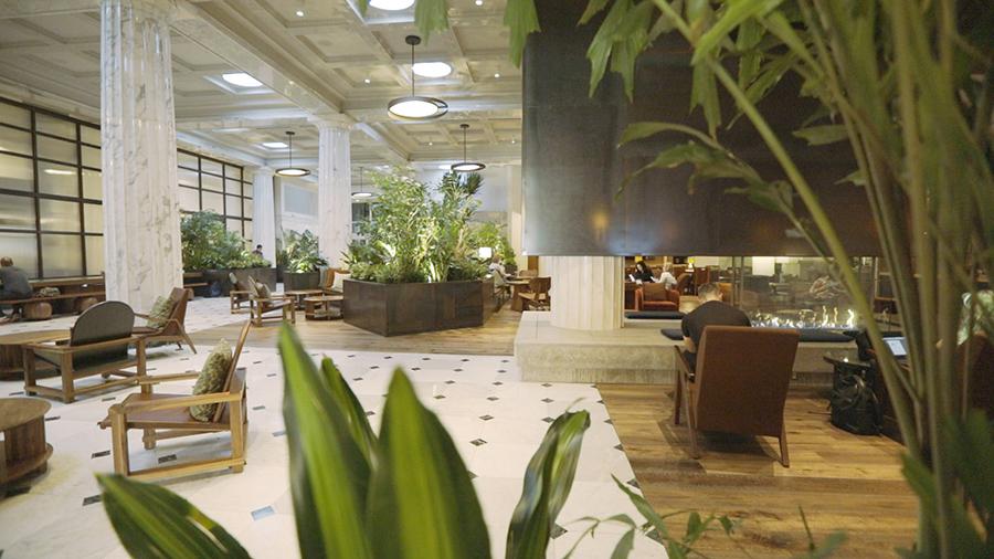 Emery Hotel Lobby
