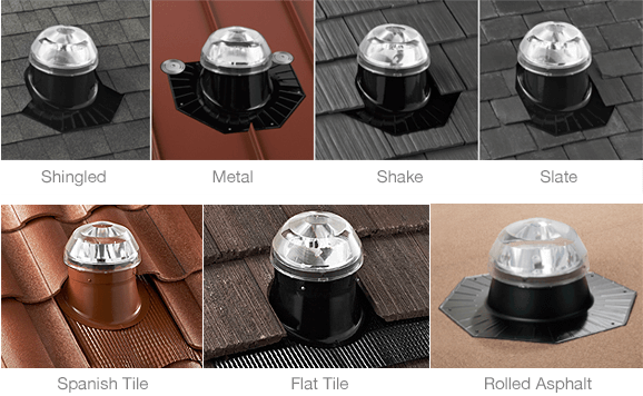 Roof mounts with many different options for any roof type.