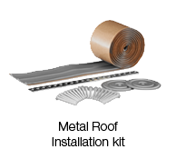 Metal Roof Installation Kit