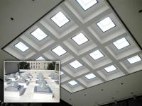 Illinois Attorney General Building – Springfield, IL – skylight retrofit with Solatube 750DS-C units